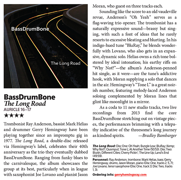 BassDrumBone - The Long Road